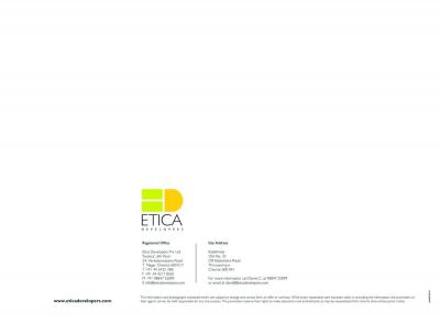 Etica Developers Kalathmika Brochure 20
