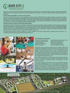 Gaursons Hi Tech 12th Avenue Brochure 2