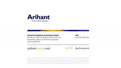 Arihant Vihaana Brochure 14