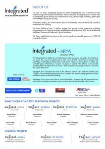 Integrated Arya Brochure 5