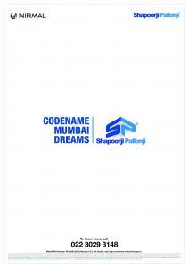 Shapoorji Pallonji Mumbai Dreams Brochure 23