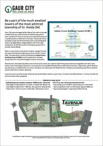 Gaursons Hi Tech 7th Avenue Brochure 2