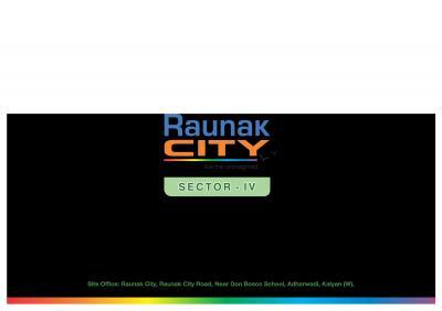 Raunak City Sector IV D9 Brochure 1