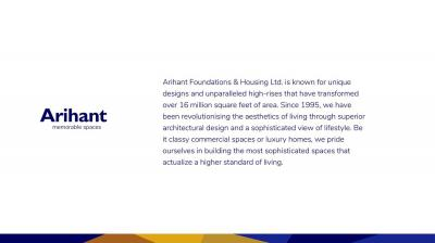 Arihant Vihaana Brochure 4