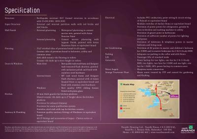 Vasathi Anandi Brochure 4