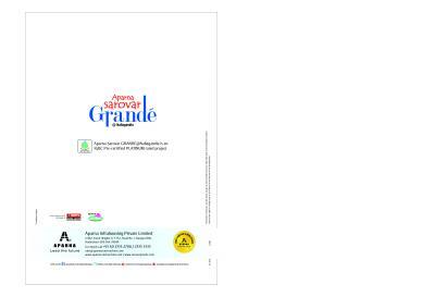 Aparna Sarovar Grande Brochure 20