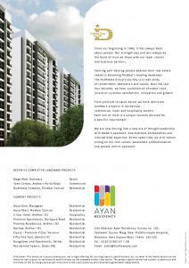 Dudhwala Ayan Residency Phase 1 Brochure 5