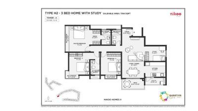 Bhartiya Nikoo Homes 2 Brochure 22