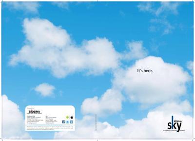 Siddha Sky Brochure 1