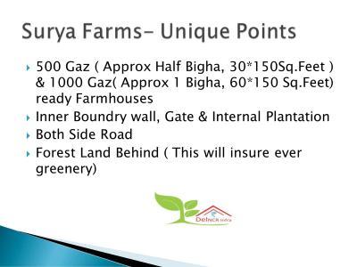 Del NCR Surya Chaman Enclave Plots Brochure 4