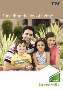 TVS Green Hills Brochure 1