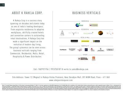 K Raheja Vistas Premiere Magna Brochure 13