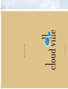 Amrapali Cloud Ville Brochure 5