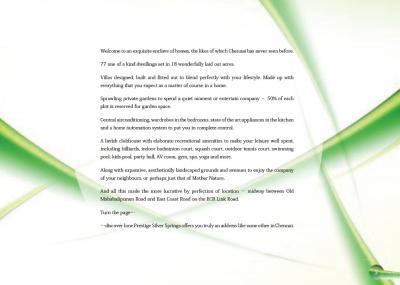 Prestige Silver Springs Brochure 2