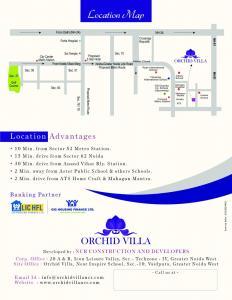NCR Orchid Villa Brochure 8