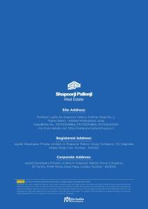 Shapoorji Pallonji Northern Lights Brochure 11