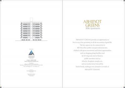 Abhijyot Abhijyot Green Brochure 2